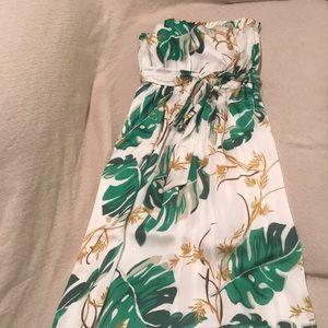 Strapless maxi dress PM